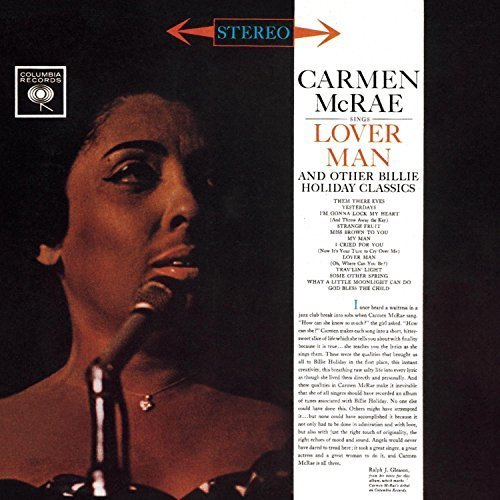 Sings Lover Man and Other Billie Holiday Classics ('59)
