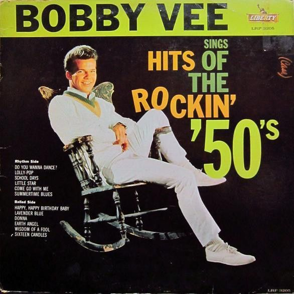 Bobby Vee sings Hits of The Rockin' '50's ('61)